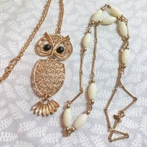 Pair of Sarah Coventry Vintage Necklaces